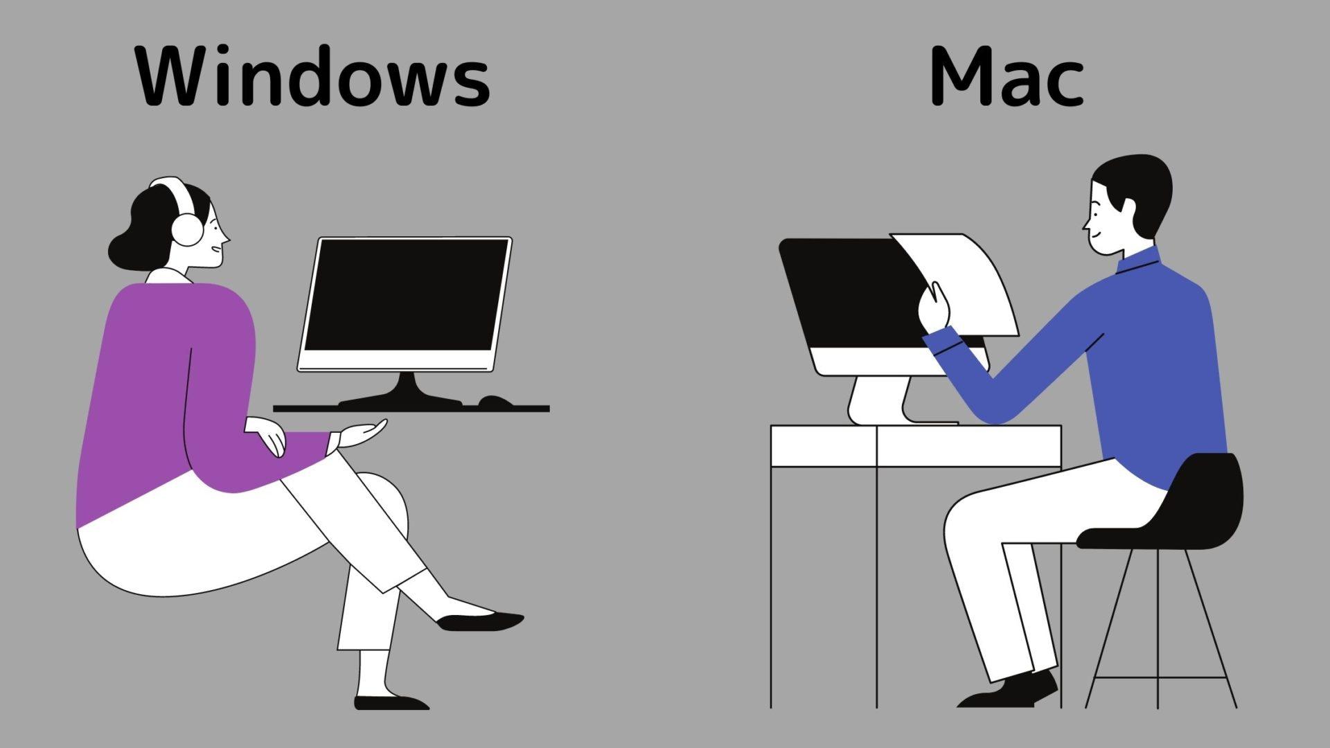 プログラミングにはMacとWindowsどちらが良いの?